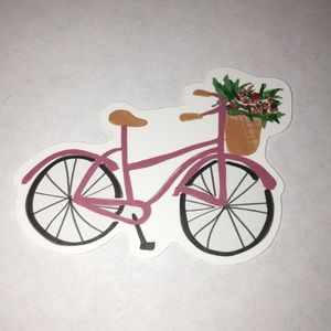 Other - Cute Pink Bike Sticker